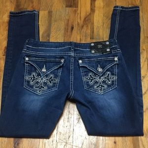 Miss Me jeans Distressed Flap Pocket Skinny 29